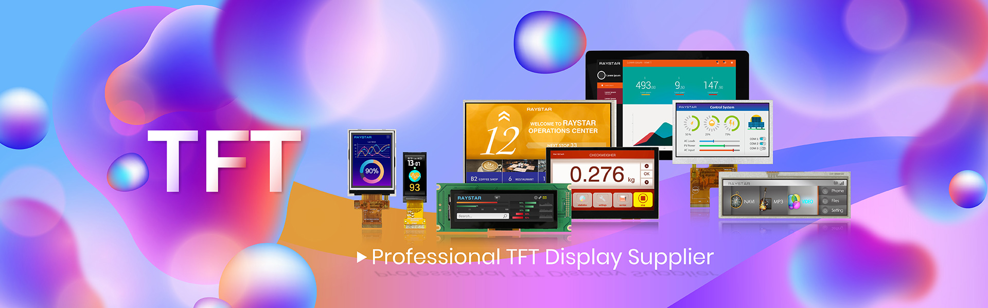 TFT LCD Display, TFT Active Matrix Display, TFT LCD Module Manufacturers