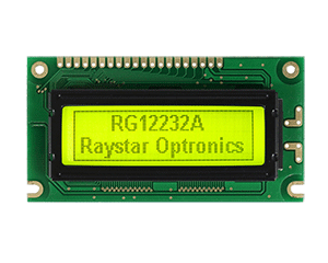 122x22 Graphic LCD Modules, LCD 122x32 - RG12232A