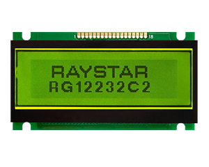 122x32 Graphic LCD Display Modules - RG12232C2