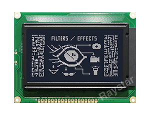 RG12864A2 128x64 Graphic LCD Display