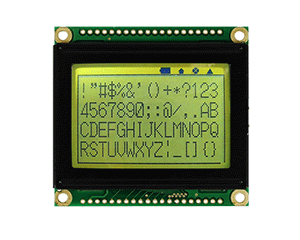 128x64 Monochrome Graphic LCD - RG12864H