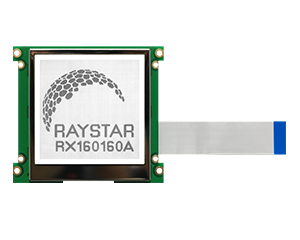 160x160 COG Graphic LCD Display - RX160160A - Raystar