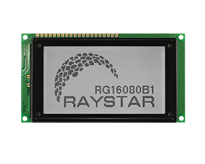 Graphic LCD Display 160x80 - RG16080B1 - Raystar