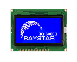 160x80 LCD Graphic Displays, LCD 160x80 - RG16080D