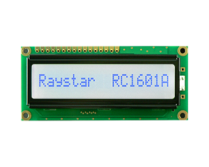 Display LCD 16x1, LCD Display 16x1, 16x1 LCD Character Display - RC1601A