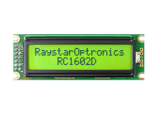 2 Line 16 Character LCD Display
