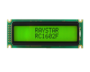Monochrome Character LCD Display 16x2 - RC1602F