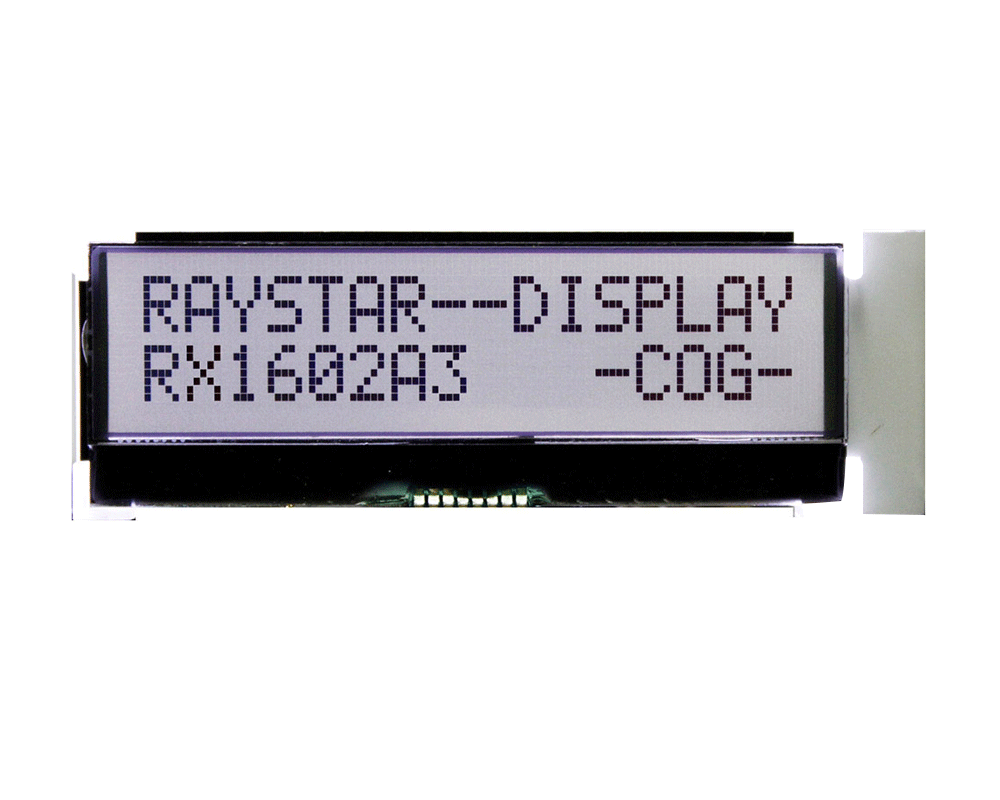 I2C LCD Display, I2C LCD Module, I2C 16x2 LCD - Raystar