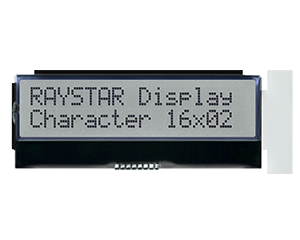 16x2 COG Character LCD Display