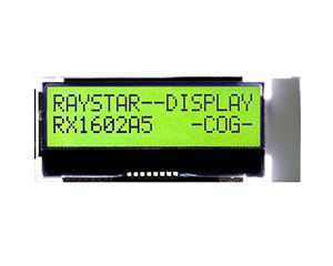 16x2 COG Character LCD Display - RX1602A5