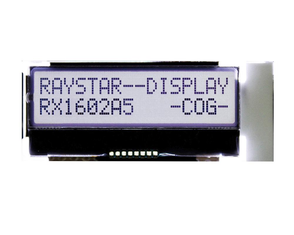 RX1602A5 - Raystar Optronics Inc