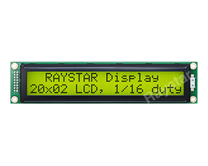 20x2 Character LCD Display Module