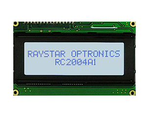 20 Characters × 4 Lines Monochrome Display Module