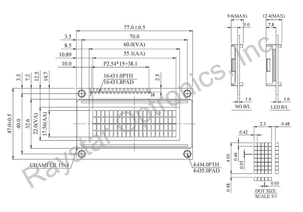 20x4 Character LCD Display, 20x4 LCD Module, LCD Display