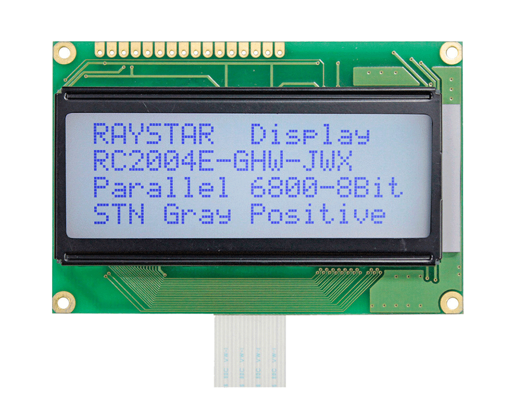 Character LCD Display 20x4 - RC2004E
