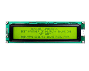 40x4 Character Display LCD