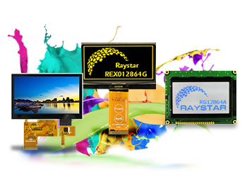 Raystar OLED, LCD, LCM, TFT Coding Systar, LCD Backlight, LED Backlight