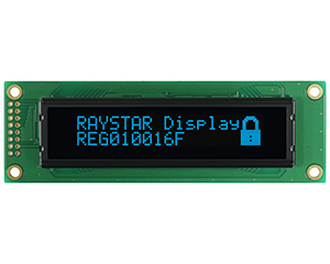100x16 OLED Graphic Display Module 2.59 - REG010016F