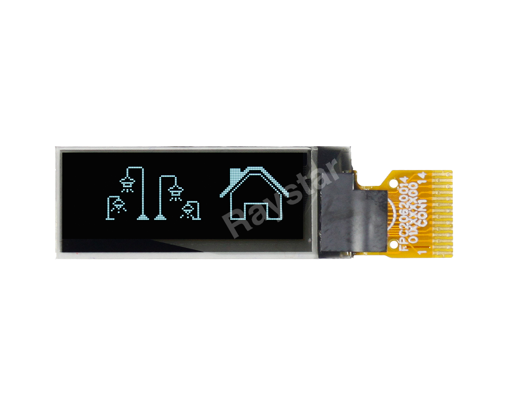 0.91 inch I2C Graphic OLED Display 128x32 (Thinner Version) - REX012832F