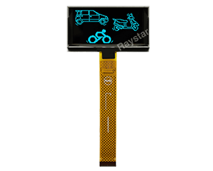 "2.7"" 128x64 Graphic OLED Display Module"