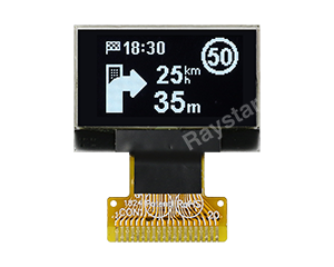 SSD1315 OLED Graphic Display Module 128x64, 0.96 inch - REX012864V