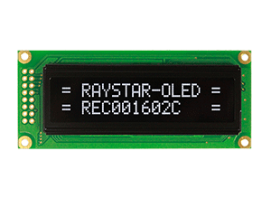 16x2 Character OLED Display - REC001602C