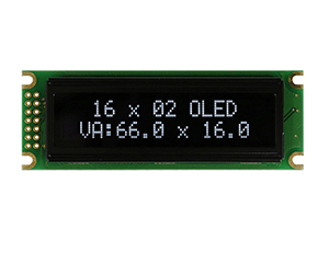 16x2 OLED Character Display