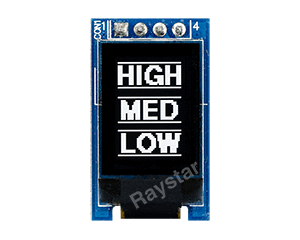 0.71 inch 48x64 OLED Display
