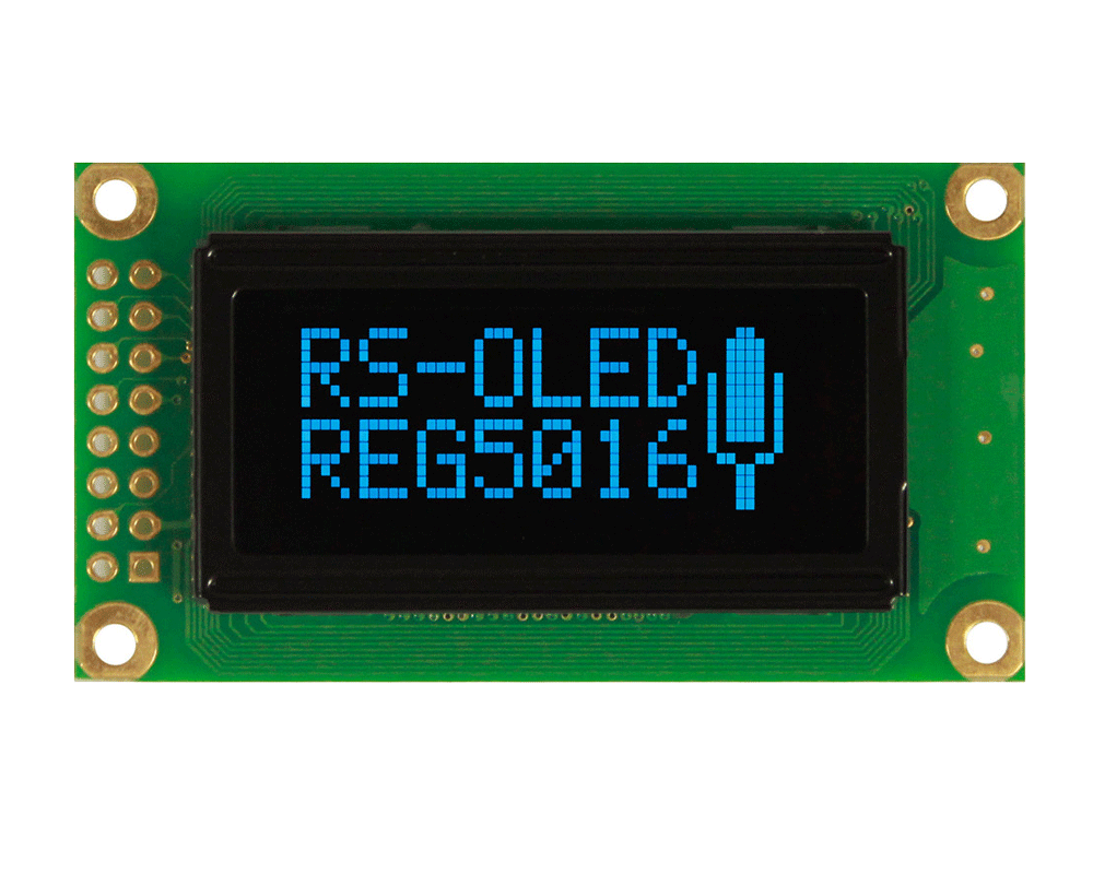 1.26, 50x16 Graphic OLED Display Module - REG005016A