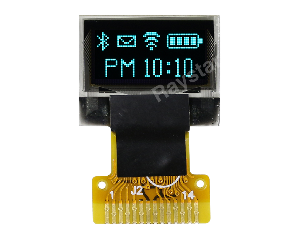 0.49 OLED, Micro OLED Display, 64x32 OLED Micro Display - REX006432A