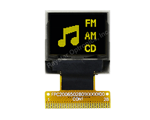 0.66 OLED, 64x48 OLED Display, Mini OLED Display,Mini Display, Mini OLED Screen - REX006448A