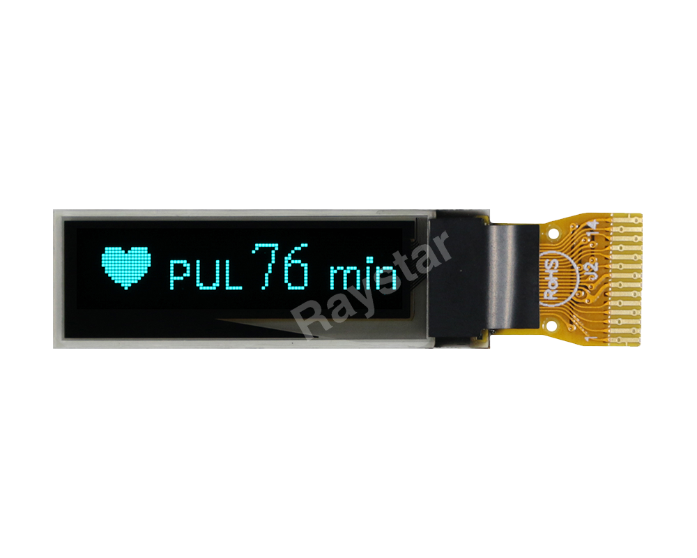 96x16 OLED Display I2C, OLED I2C Display, I2C OLED Display - REX009616A