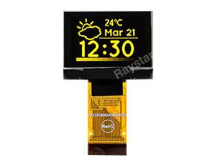 "1.1"" Graphics OLED Display 96x64 dots - ZIF"
