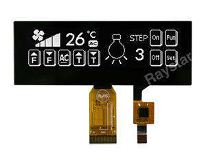 3.55 OLED, SSD1322 OLED Display Module- REX025664D-CTP
