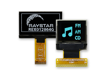 OLED Graphic Display, OLED Display Module, Graphic OLED Screen Module Display - Raystar