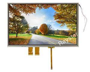 Wide Temperature Resistive Touch TFT Panel Display 10.2""