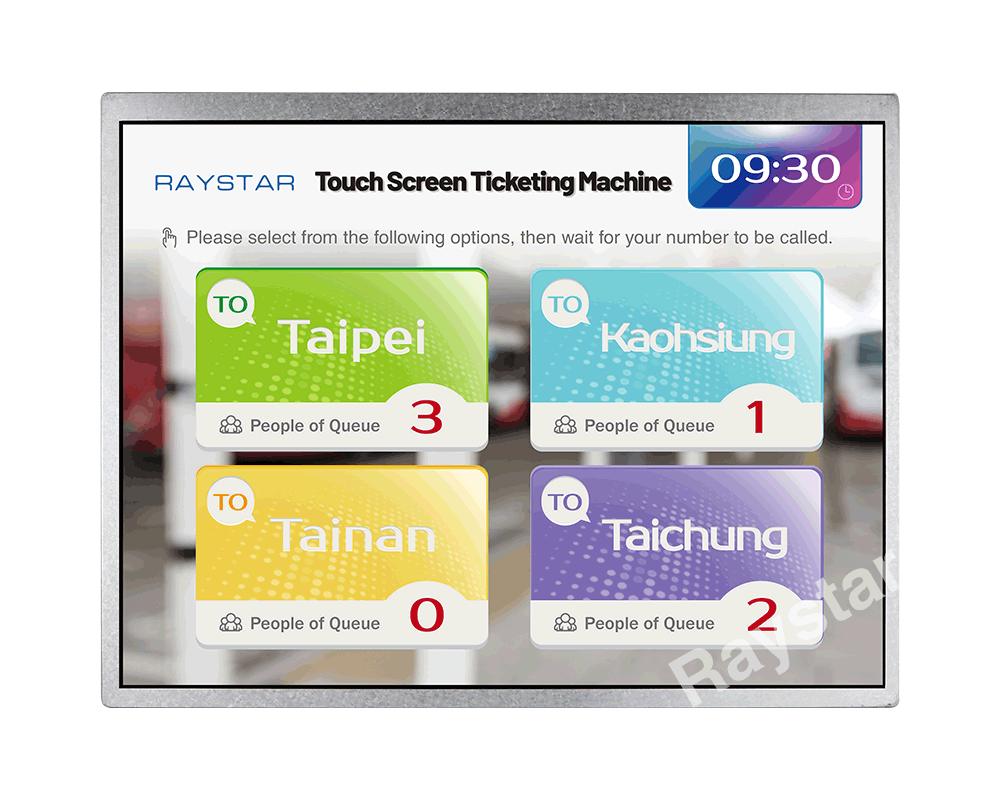 12.1 inch Wide Temperature IPS TFT LCD Display - RFM1210E-AWW-LNN - Raystar