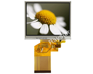 3.5 Resistive Touch Screen TFT LCD Display - RFC350L-AIH-DNS