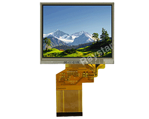 "3.5"" Resistive Touch Panel TFT LCD Module"