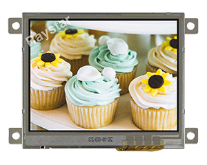 Resistive Touch Screen TFT Display 3.5 inch - RFC350P-EIW-DBS