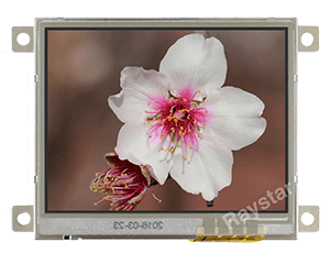 Resistive Touch TFT 3.5 LCD Panel with Controller Board - RFC350Q-EIW-DBS