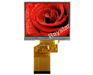 "3.5"" Wide TFT LCD Display"