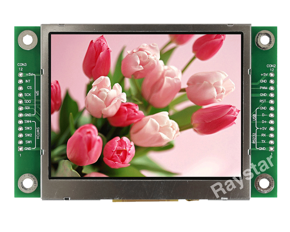 SPI TFT, TFT SPI Interface, SPI LCD Module 3.5 (All in One TFT) - RFC350M-EIW-DRN