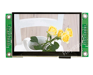 "4.3"" 480x272 Resolution All in One TFT LCD with PCAP"