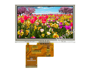 4.3 High Brightness Active Matrix Resistive Touch Display - RFE430V-AIH-DNS