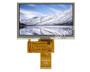 "LCD TFT Display 4.3"" (Resistive Touch Screen)"