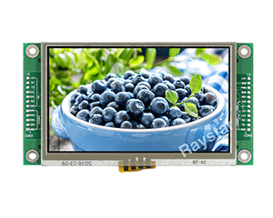 4.3 All in One UART TFT, UART TFT LCD (RTP) - RFE43DM-EIW-DRS