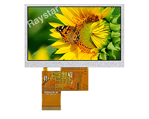Sunlight Readable TFT LCD Displays, Sunlight LCD - RFE430G-AIH-DNN