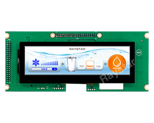 5.2, 480x128, PCAP Bar TFT LCD Display Supporting HDMI Signal - RFS52VA-1ZH-DHG - Raystar