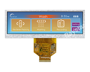 Bar Type Color TFT LCD Module 5.2 - RFS520A-AZW-DNN